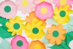 Flores de Origami Foto de archivo