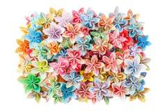 Flores de papel Fotografía de archivo libre de regalías