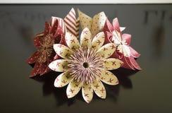 Flores de papel Imagens de Stock Royalty Free