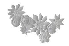 Flores de papel Imagens de Stock