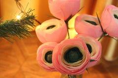 Flores de papel Flores Handmade fotos de stock royalty free