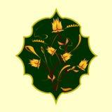 Flores de paraíso Imágenes de archivo libres de regalías