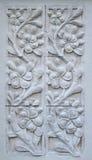 Flores de pedra do plumeria Imagem de Stock