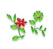 Flores de Photoshop Fotos de Stock