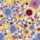 Flores de Seamles Imágenes de archivo libres de regalías