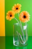 Flores de seda Fotos de archivo