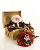 Flores de seda Imagenes de archivo