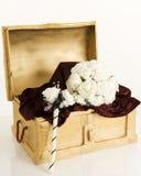 Flores de seda Foto de archivo