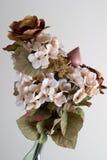 Flores de seda Imagen de archivo