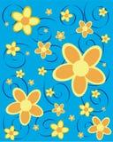 Flores de Sommer Imagem de Stock Royalty Free