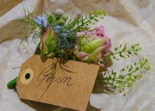 Flores de Weding Fotos de archivo