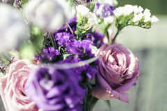 Flores de Weding Foto de archivo libre de regalías