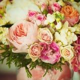 Flores de Weding Efeito de Instagram, cores do vintage Imagens de Stock Royalty Free