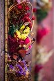 Flores decorativas Fotografía de archivo