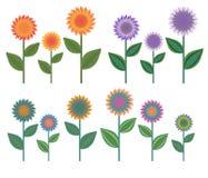 Flores decorativas stock de ilustración