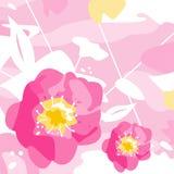 Flores decorativas Foto de Stock