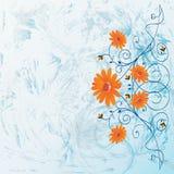Flores decorativas Imagens de Stock Royalty Free
