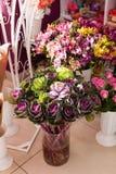 Flores decorativas del cale Foto de archivo