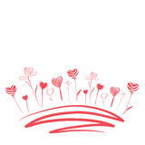 Flores del amor libre illustration