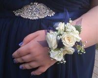Flores del baile de fin de curso Imagen de archivo libre de regalías