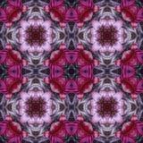 Flores del caleidoscopio de la teja Imagen de archivo