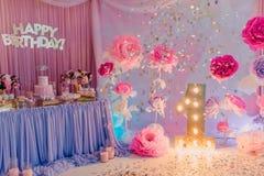 Flores del cumpleaños de las decoraciones