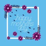 Flores del d?a de madres libre illustration