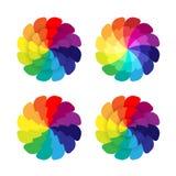 Flores del espectro Imagen de archivo