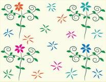 Flores del fondo foto de archivo libre de regalías