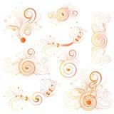 Flores del fuego Imagen de archivo libre de regalías