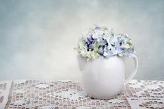Flores del Hortensia Imágenes de archivo libres de regalías