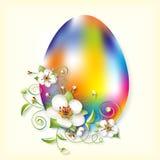 flores del Huevo-arco iris y de la manzana Imágenes de archivo libres de regalías