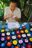 Flores del jabón Fotografía de archivo