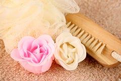 Flores del jabón Fotos de archivo libres de regalías