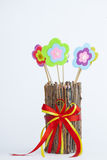 Flores del juguete Fotos de archivo