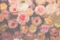 Flores del ramo de la boda imagen de archivo
