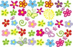 Flores del resorte ilustración del vector