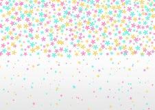Flores del rosa, verdes y amarillas en Grey Background stock de ilustración