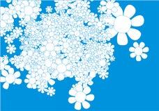 Flores del vector Imágenes de archivo libres de regalías