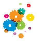 Flores del verano ilustración del vector