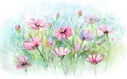 Flores del verano stock de ilustración
