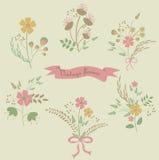 Flores del vintage Foto de archivo libre de regalías