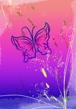 Flores del Water-colour Imagen de archivo