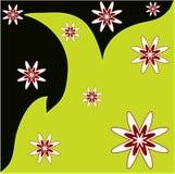 Flores dispersadas Fotos de Stock