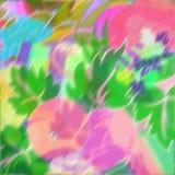 Flores distorcido fotografia de stock
