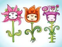 Flores divertidas libre illustration