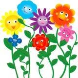 Flores divertidas Fotos de archivo libres de regalías