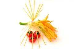 Flores do abobrinha Imagens de Stock