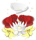 Flores do amor Fotos de Stock Royalty Free