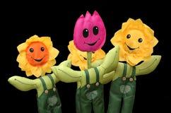 Flores do brinquedo imagem de stock